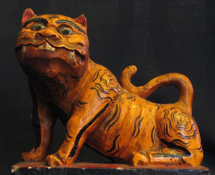 Una statuina del Generale Tigre