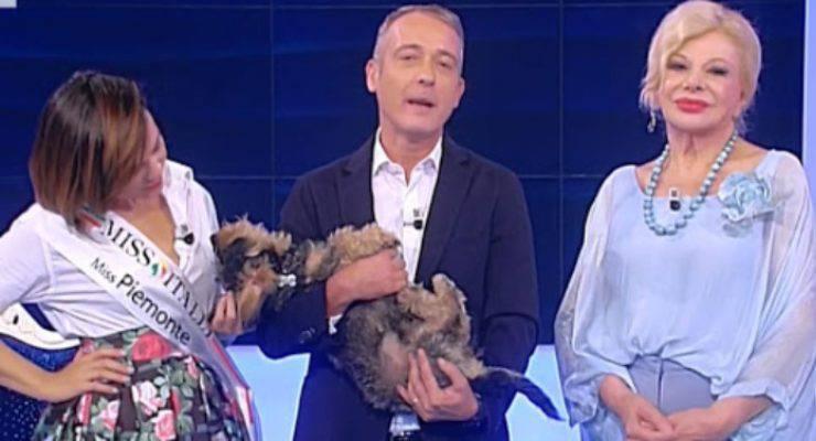 Pierluigi Diaco cane Ugo