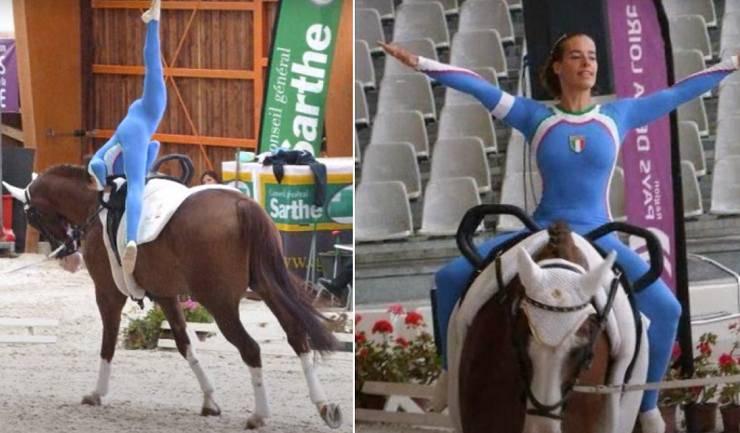 volteggio a cavallo