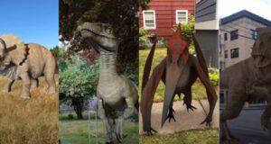 dinosauri per foto e video