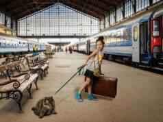 Viaggiare in treno col gatto