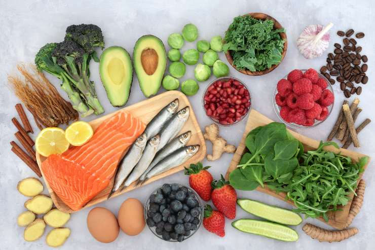 sardine e verdure