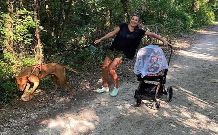 alena seredova instagram sprint cane