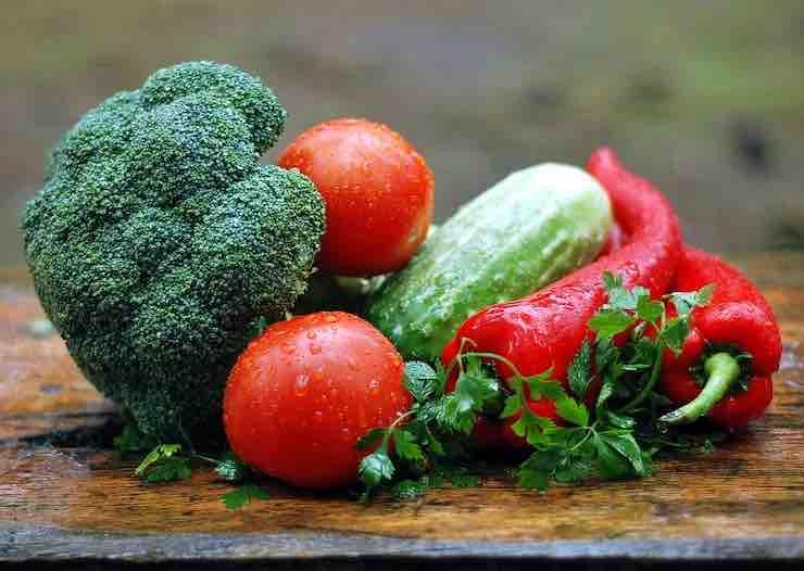 le verdure per i conigli