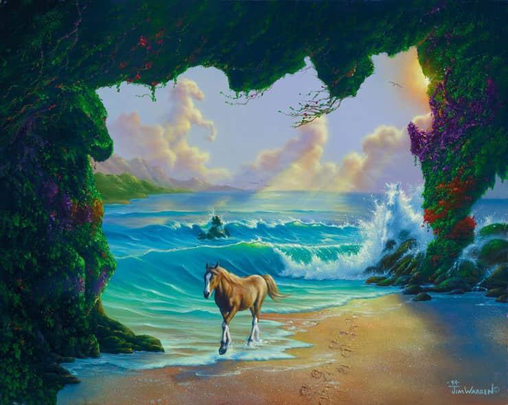 Test visivo dei sette cavalli