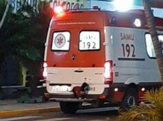 cane salta ambulanza