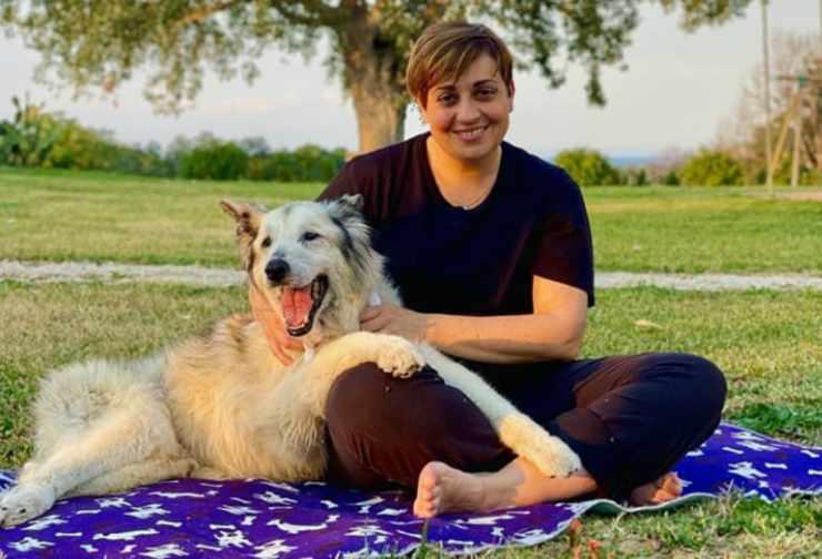 Benedetta e il suo cane volato in cielo (Foto Instagram)