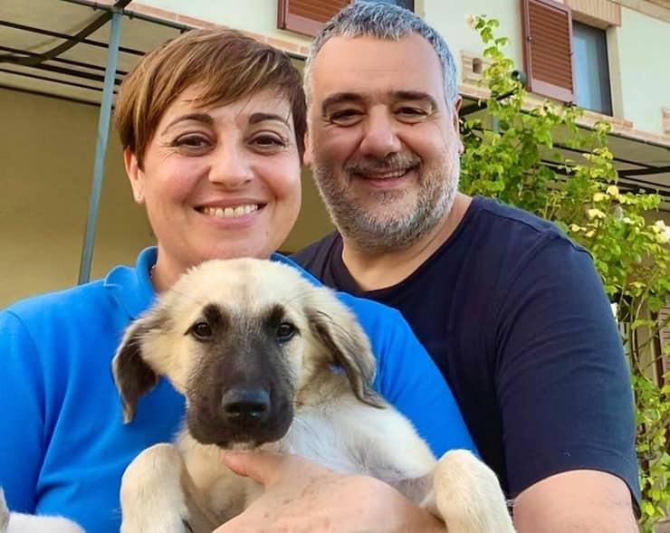 Benedetta suo marito Marco e Cloud