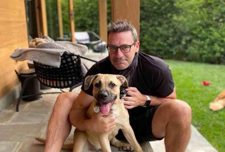 Splash, il cane abbandonato due volte adottato da una star del cinema (screenshot Instagram)