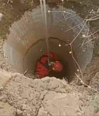 Breton cade in un pozzo durante una battuta di caccia: il salvataggio (screenshot YouTube)
