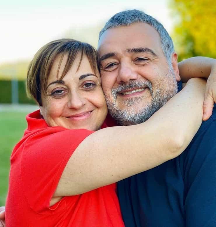 Benedetta e suo marito Marco