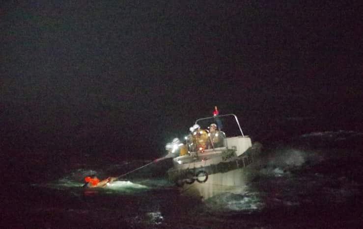 unico sopravvissuto della nave con 6000 mucche e 43 persone a bordo