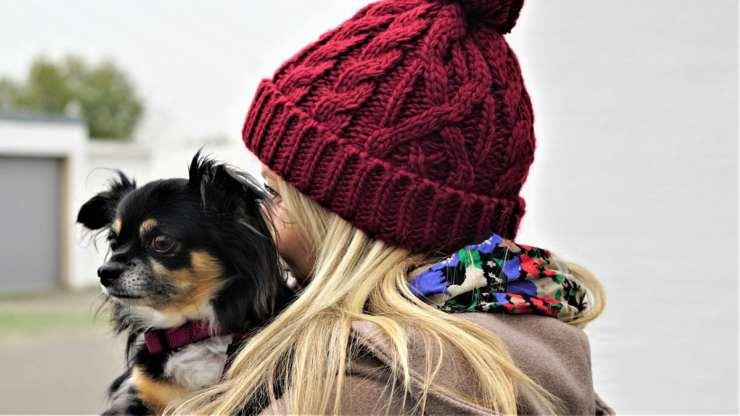 Il cane e la sua mamma umana (Foto Pixabay)