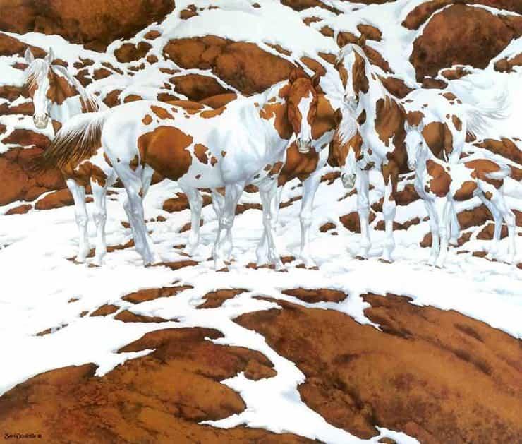 Test visivo:  Quanti cavalli riuscite a vedere nel dipinto
