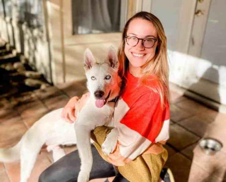 Yukon, il cane abbandonato e malconcio che è tornato a vivere (foto Facebook)
