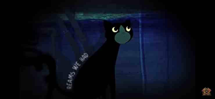 Pixie gatto Brian May (screenshot YouTube)