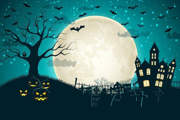 Lavoretto di Halloween per bambini