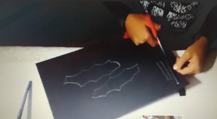 Disegnare e ritagliare le ali