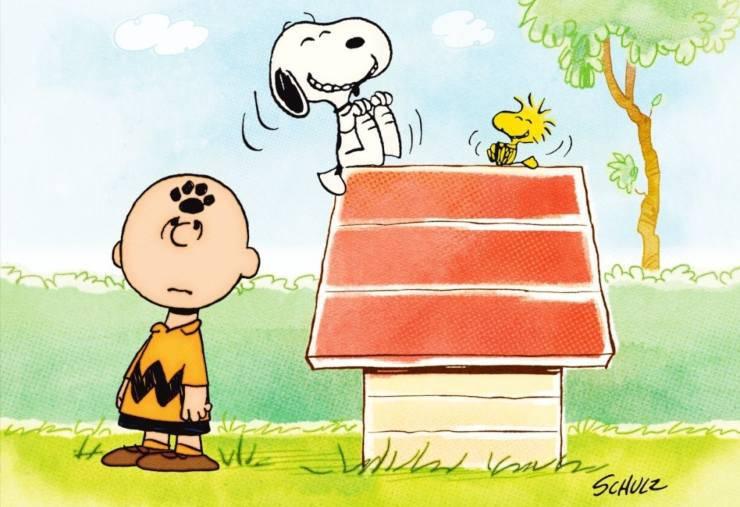 Charlie Brown e il suo cane