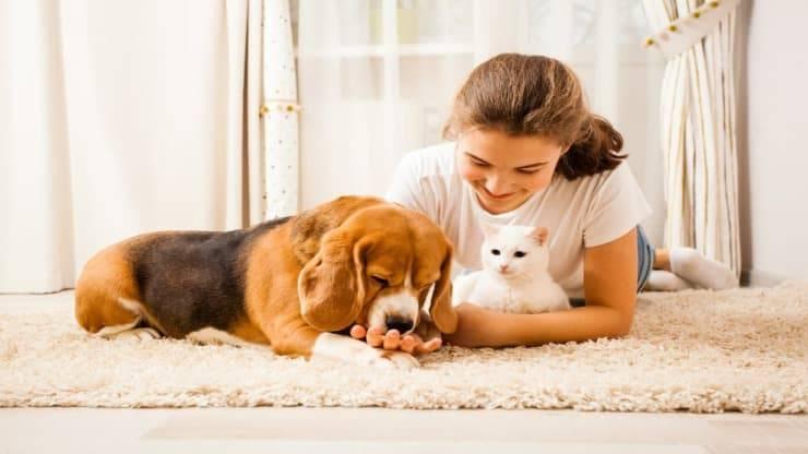 Gli animali domestici migliorano l'autostima (Foto Adobe Stock)