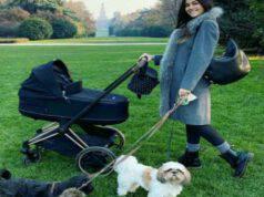 Giorgia Palmas e i cagnolini (Foto Instagram)