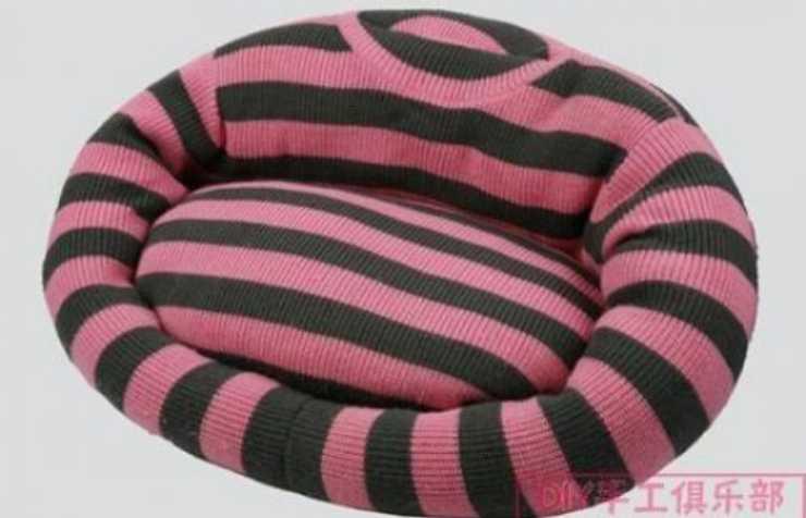 cuccia con maglione