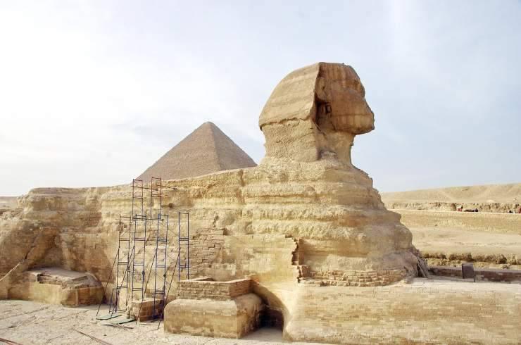Sfinge nell'antico Egitto