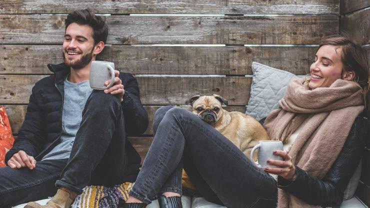 cane aiuta a conoscere potenziali partner amore coppia