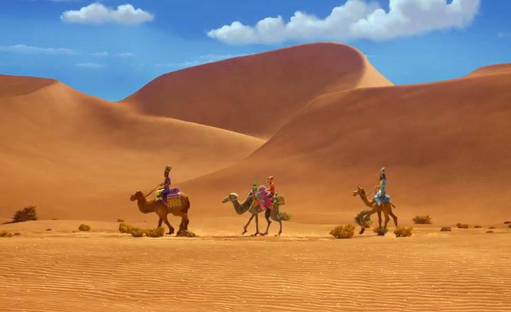 i cammelli de gli eroi dei natale