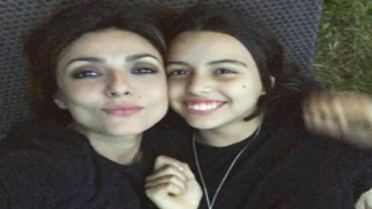Ambra Angiolini e la figlia
