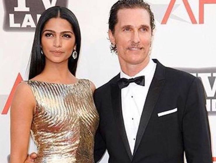 cani amore Matthew McConaughey moglie
