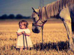 Paura dei cavalli nei bambini