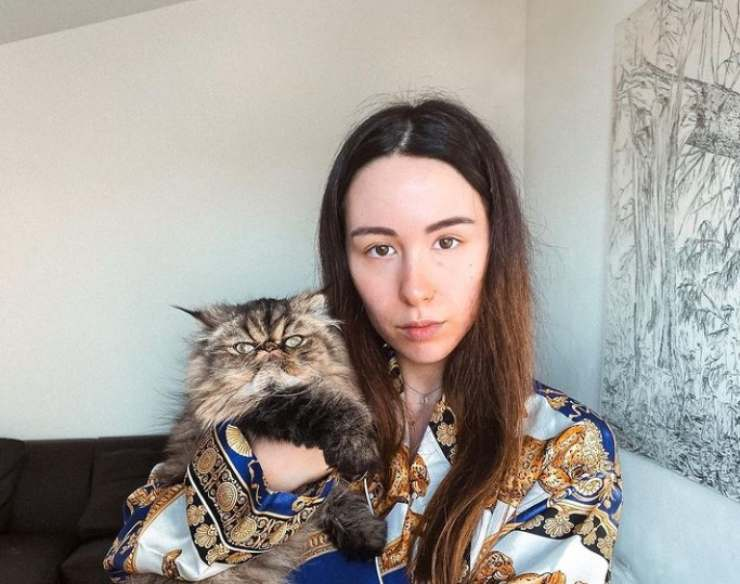 Aurora Ramazzotti ladro casa gatto