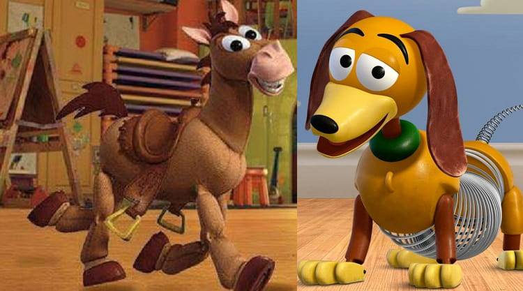 cavallo cane giocattolo toy story