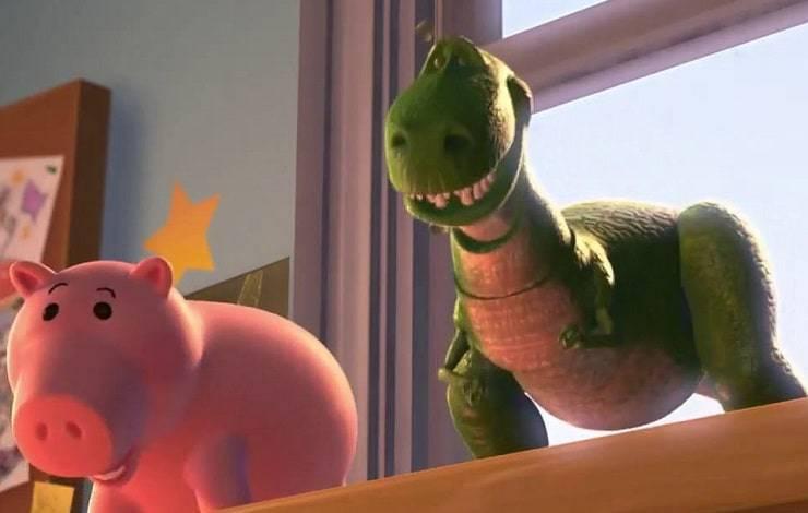 dinosauro porcellino toy story