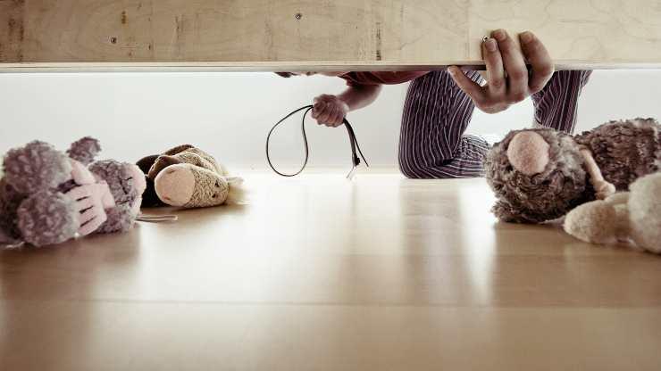 giochi sotto il letto