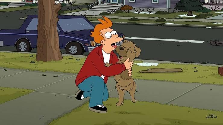 Cane Fry Futurama