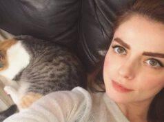 Annalisa e il gatto (foto Instagram)
