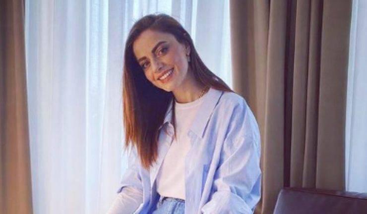 Annalisa in primo piano (Foto Instagram)