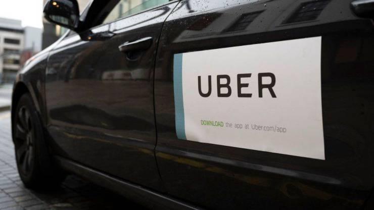 Donna Non Vedente Cane Guida Uber