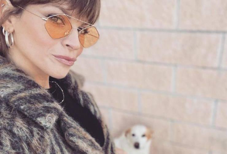 Alessandra Amoroso e il cane (Foto Instagram)