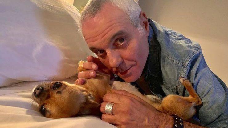 Giorgio Panariello e i suoi cani
