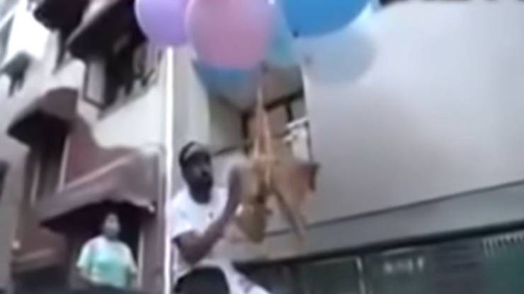 Youtuber Cane Palloncini Video