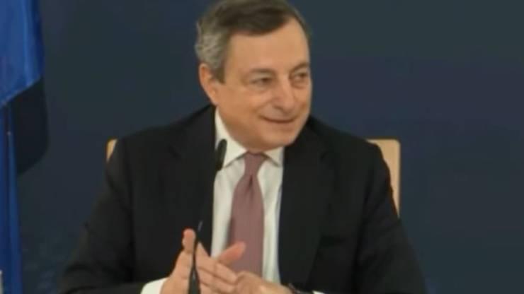 Mario Draghi Pavone Video