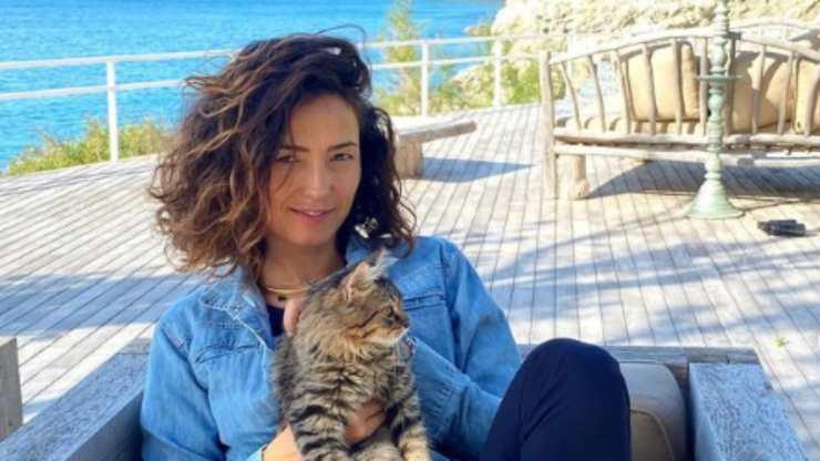 caterina e il gatto Ermes (Foto Instagram)