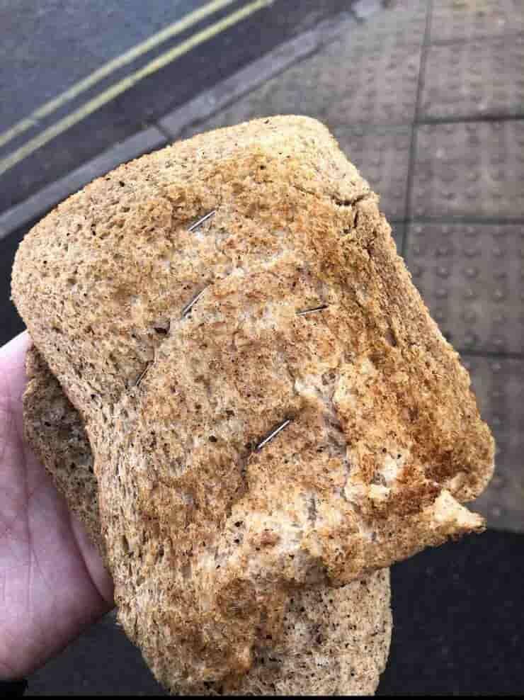 Pane con le graffette