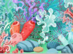Il test visivo difficilissimo riesci a trovare nel fondale marino la medusa in soli 20 secondi ?