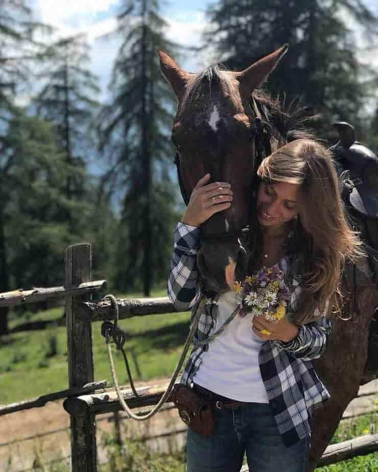 Nicole Berlusconi e il suo amore per gli animali (Screen Instagram)
