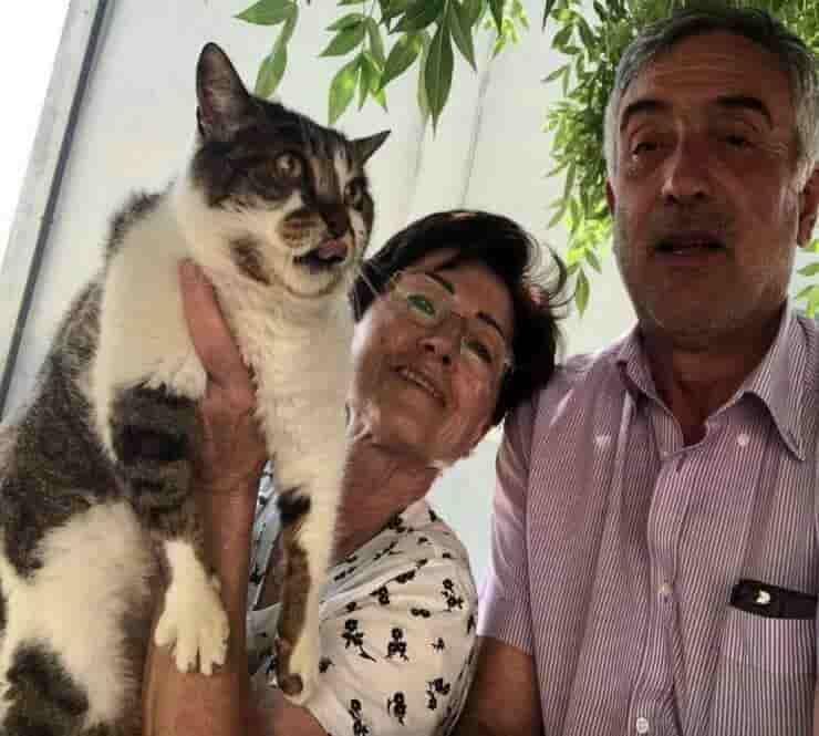 Patata e la sua famiglia (Foto Facebook Patrizia Ulivieri)