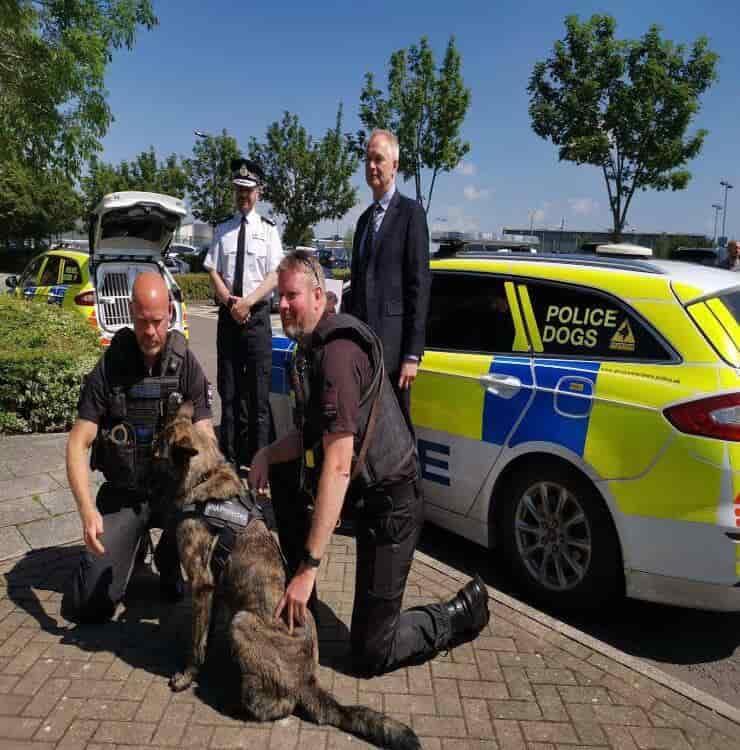 Polizia di Gloucestershire (Screen Facebook)